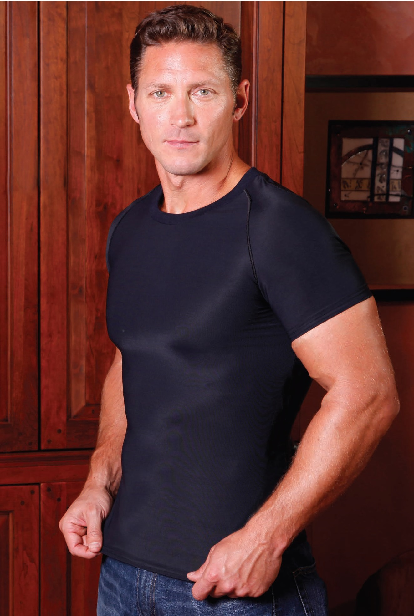 SC-175 CDI Stage 2 Male Compression Shirt
